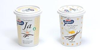 Tine yoghurt - Tine yoghurt JA