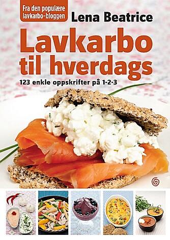 BRUKERVENNLIG: Lavkarbo til hverdags - 123 enkle oppskrifter på 1-2-3 er en kokebok inneholdene oppskrifter som passer for folk flest.