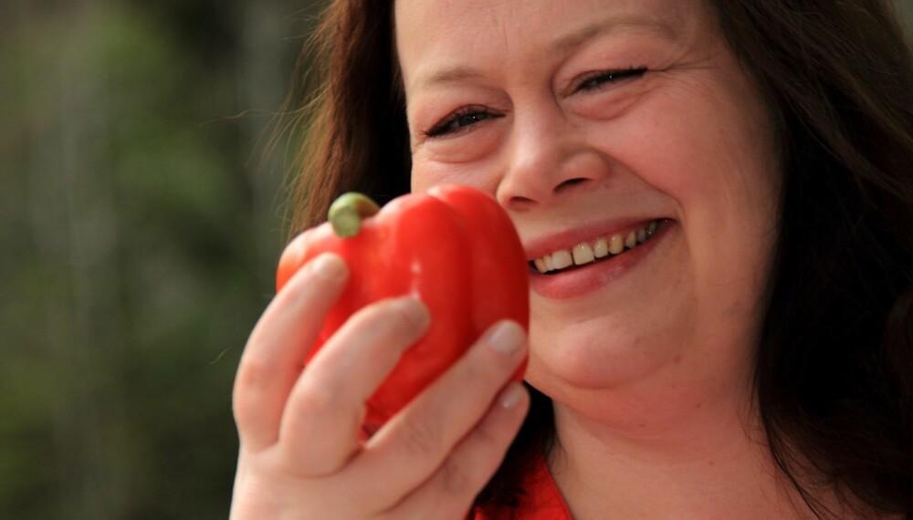 SLANKEDRONNING: Lena Beatrice Aronsson (40) gikk ned 45 kilo med lavkarbo, på eget initiativ.