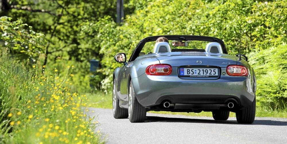 LEKKER: Bilen behøver ikke koste en million for å vekke de rette følelsene.