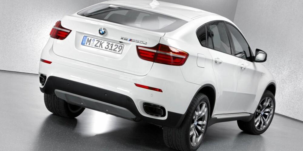 UTSLIPP: CO2-utslippet på 204 g/km, standard EU5. FOTO: BMW