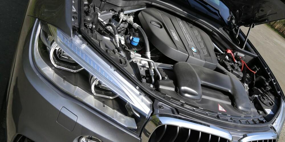 GAMMELT NYTT: For første gang havner en toliters firer i BMW X5, men det er ikke den nyeste dieselmotoren som har funnet veien under panseret.