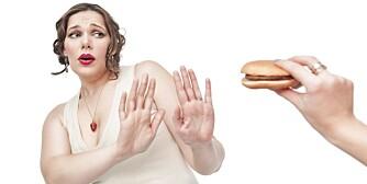 FINN NEI-KNAPPEN: De som har funnet nei-knappen, har hatt klare beslutninger også i forhold til mat og mosjon.