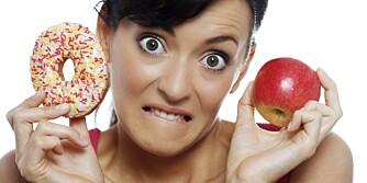 SLUTT Å TELLE KALORIER: Sats heller på å spise sunn, god mat 4¿5 ganger om dagen.