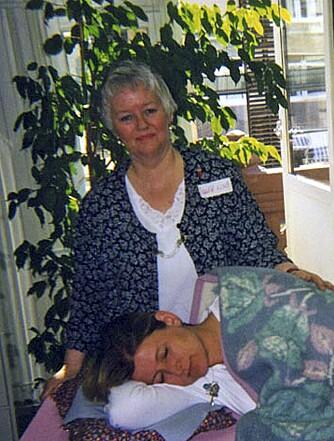 PUSTELÆRE: Inger Lise Eide har lært folk å bli bevisste på pusten i over 20 år.