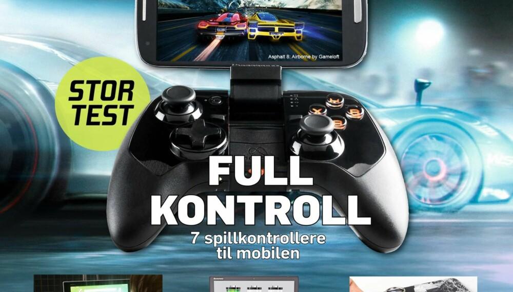 I SALG NÅ: HjemmePC #5 (mai) er i salg nå. Skaff deg ditt eget abonnement på www.bladkiosken.no.