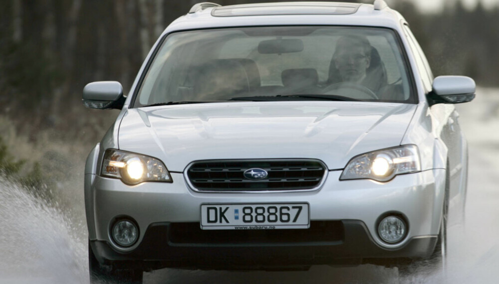 ROBUST: Er du ute etter en bil som tåler litt mer enn en vanlig stasjonsvogn, kan en brukt Subaru Outback være et godt valg.