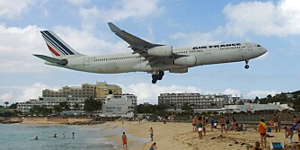 Prinsesse Juliana internasjonale lufthavn - Saint Martin, Karibien