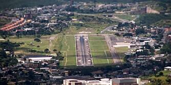 Toncontín internasjonale flyplass -Tegucigalpa, Honduras