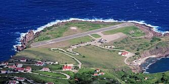 Juancho E. Yrausquin lufthavn - Saba, Karibien