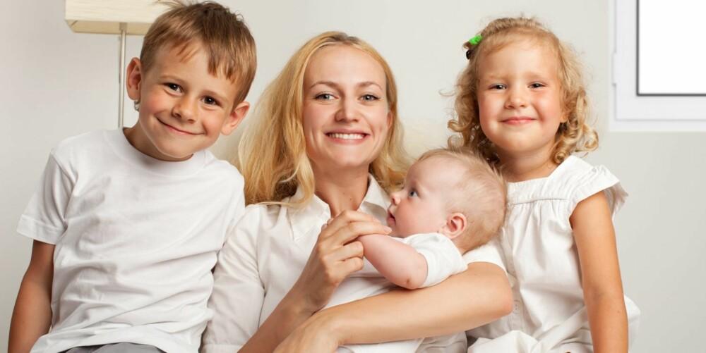 RAR OVERGANG: For mange blir overgangen fra å være hjemme med barn stor og vanskelig.