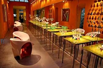 DRIADE: Moderne møbler i en fantastisk bygning.