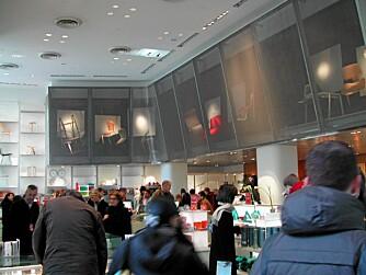 MOMA: Butikk og museum er tett knyttet til hverandre.