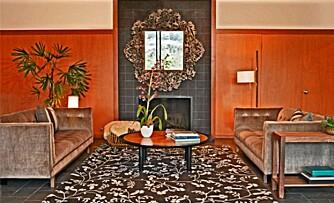 KLASSISK: Egenproduserte møbler du kan sitte komfortabelt i, er typisk for Lawson-Fenning.
