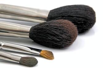 VERKTØY: Velg riktig verktøy. Hvis du legger flytende foundation anbefaler vi en syntetbørste, men for mineralfoundation i pulverform kan du gjerne bruk en naturhårsbørste.