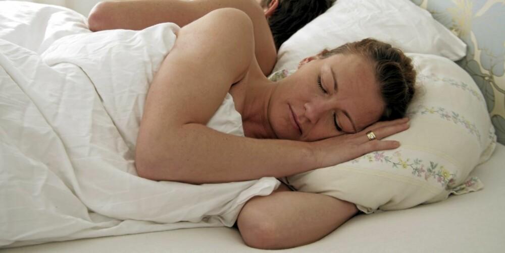 SØVN: Sov nok, for lite søvn påvirker nemlig huden negativt.