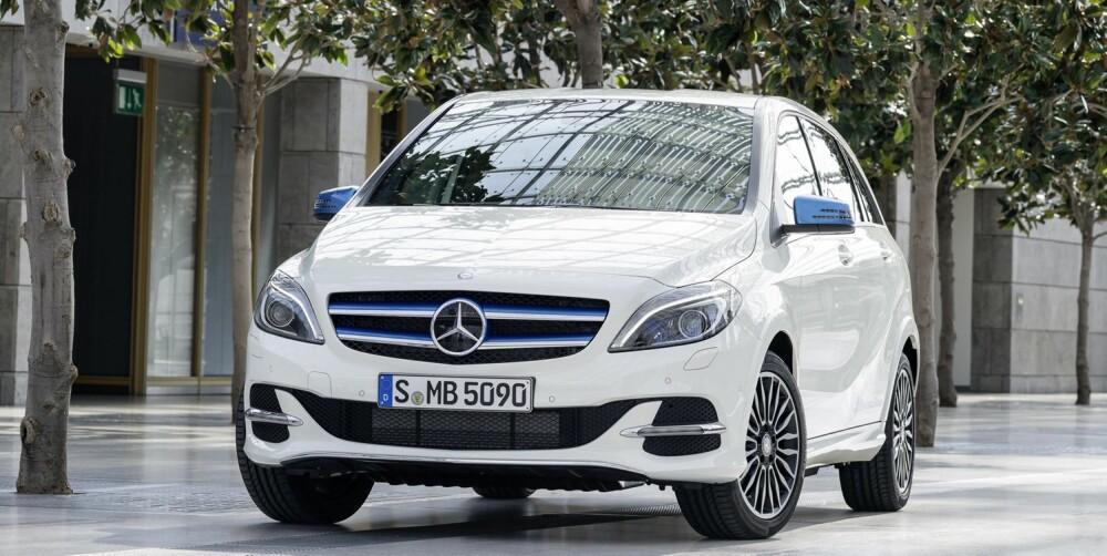 PRIS: Mercedes B-klasse Electric Drive koster fra 271.890 kroner. Til sammenligning koster en VW e-Golf fra 244.200 kroner og BMW i3 fra 249.900 kroner (uten leveringskostnader).