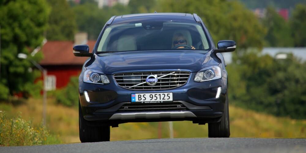 SLUKER MIL: Volvo XC60 T6 AWD er en av de beste langtursbilene vi har testet.