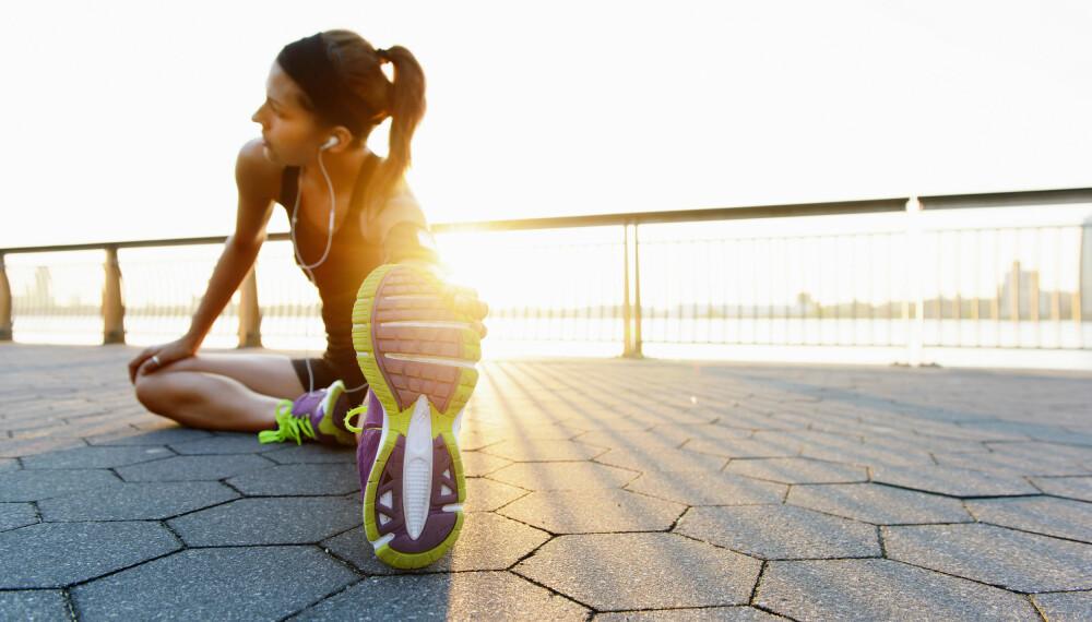 VANLIG MED LØPESKADER: Løpeskader blant løpere og nybegynnere er helt vanlig. Det skal nemlig ikke mer til enn litt for hardt underlag, feil løpesko eller endring i intensiteten.