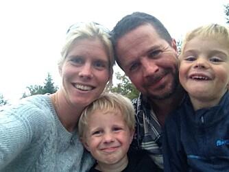 NYE VERDIER: I familien til Kristiane er det viktig å vise barna at deres verdi ligger hvem de er, ikke hvordan de ser ut.