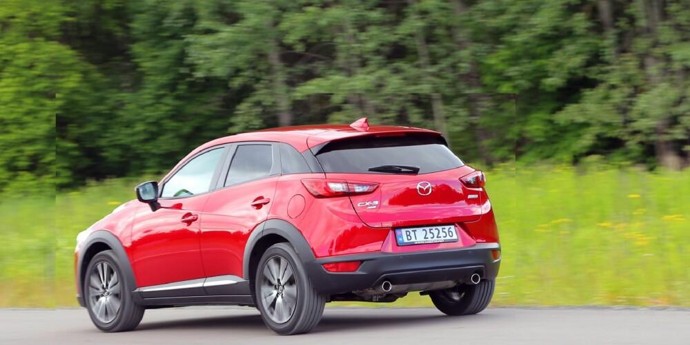 SMEKKER: Fine linjer gjør Mazda CX-3 til en bil mange snur seg etter.