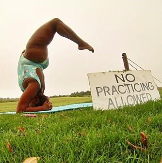 BARN: - Hvis jeg får barn en dag, vil jeg lære dem yoga som et nyttig verktøy de kan ha med seg gjennom hele livet.