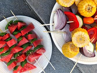 VANN I MUNN: Vannmelon er kanskje en av de friskeste fruktene om sommeren. Leskende er den og.