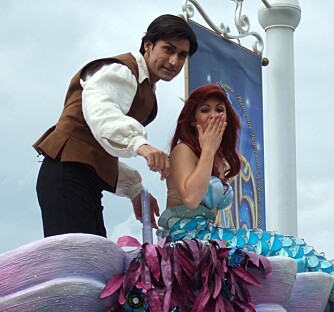 ARIEL: Havprinsessen som solgte stemmen sin for å få sin utkårede prins...