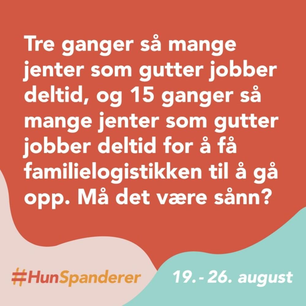HUN SPANDERER: Isabelle står blant annet i bresjen for en kampanje som skal gjøre folk oppmerksom på kjønnsstereotypier og subtil diskriminering.