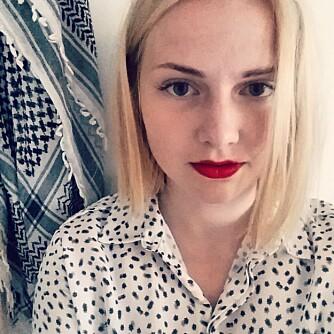 MINA VASSVIK (17): Mina skrev i fjor et blogginnlegg om kvinnelig kroppshår.