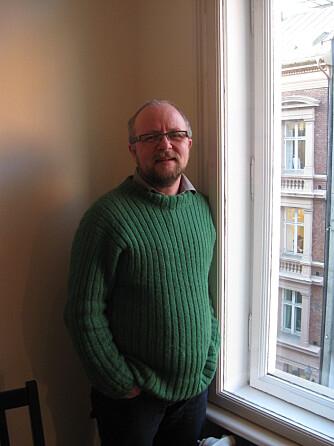 LLH: Stein Wolff Frydenlund er trans, og leder for det transpolitiske utvalget i LLH