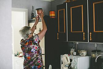 MARIELLS BESTMOR: - Ho er mitt bestemorforbilde som alltid lagar kaffe, pyntar seg og steller til i kjøkenet.