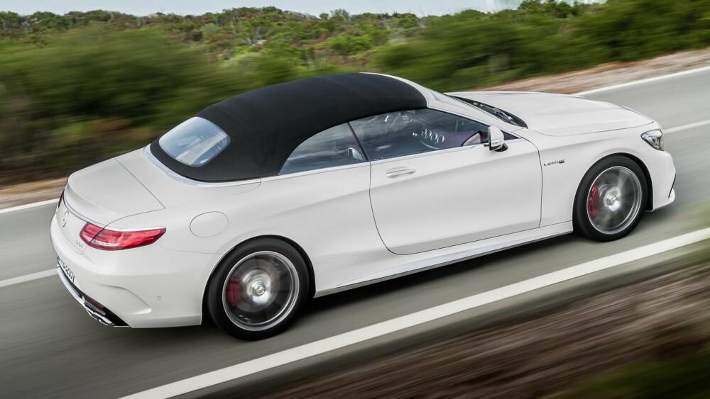 PRIS: Vår kvalifiserte gjetning vil være at kabrioleten vil ha en startpris på rett i underkant av to millioner kroner. FOTO: Daimler AG