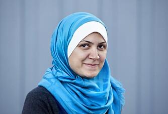 REISEGLAD: Hjemme i Syria drømte Safaa om å reise. Det gjør hun fortsatt, tross de mange landegrensene hun har måttet krysse. - Men nå vil jeg helst reise som turist, understreker hun.