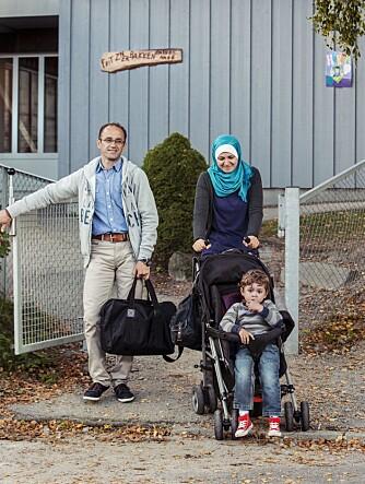 BARNEHAGE: Foreldrene henter Taim i den forrige barnehagen han gikk i.