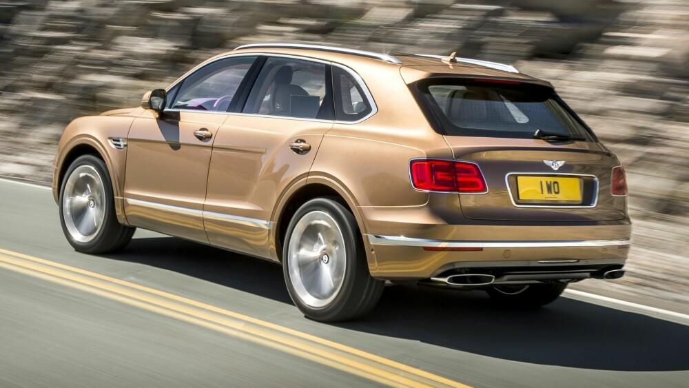 SUV: Bentley Bentayga. FOTO: Produsent