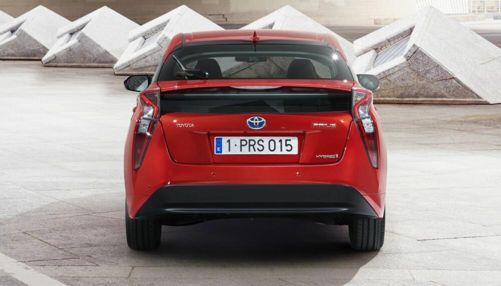 HYBRIDBIL: Dette er fjerde generasjon Toyota Prius. ALLE FOTO: Toyota