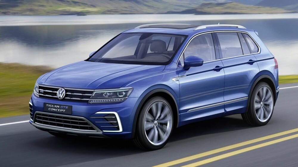 TIGUAN: Volkswagen Tiguan GTE-konsept. FOTO: VW