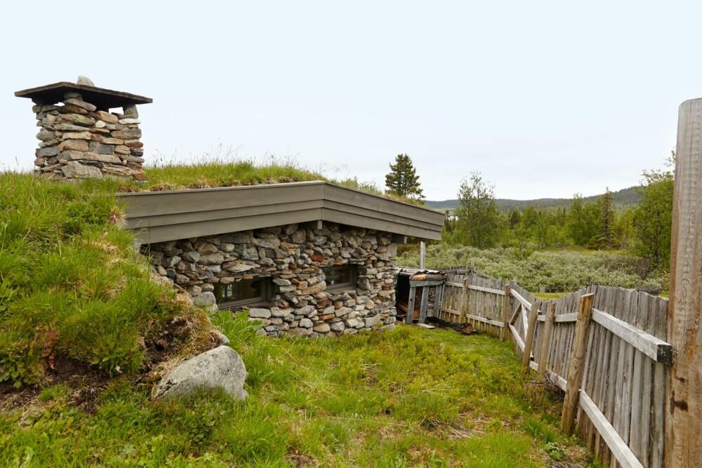 BADSTUE: Dette et eget bygg som er en badstue.