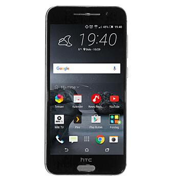 FERSK: HTC One A9 kjører Android 6, som en av de første mobilene på markedet.