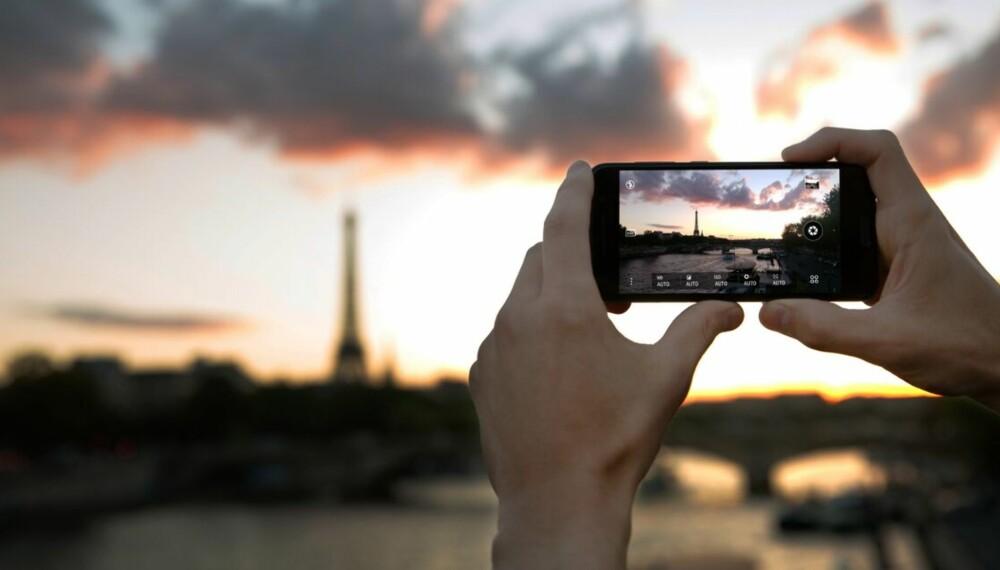 RÅBILDER: HTC One A9 har lagt litt vekt på kameraet og lar deg fotografere med råbilder. Det gir gode muligheter for å justere bildene i etterkant.