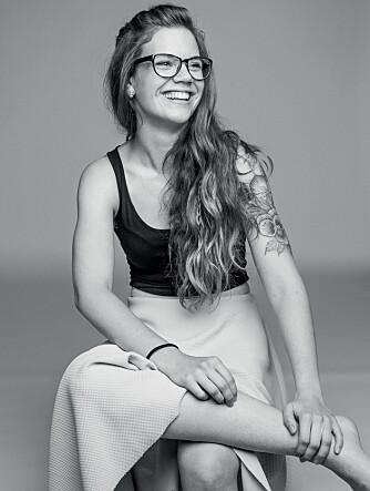 - Det er ikke folks reaksjoner på kroppshår som er skumle, men vår egen frykt for å gjøre noe som er annerledes, sier Jenny Jordahl.