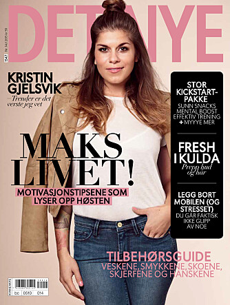 Les hele intervjuet med Kristin Gjelsvik i Det Nye 14, som er i salg nå!