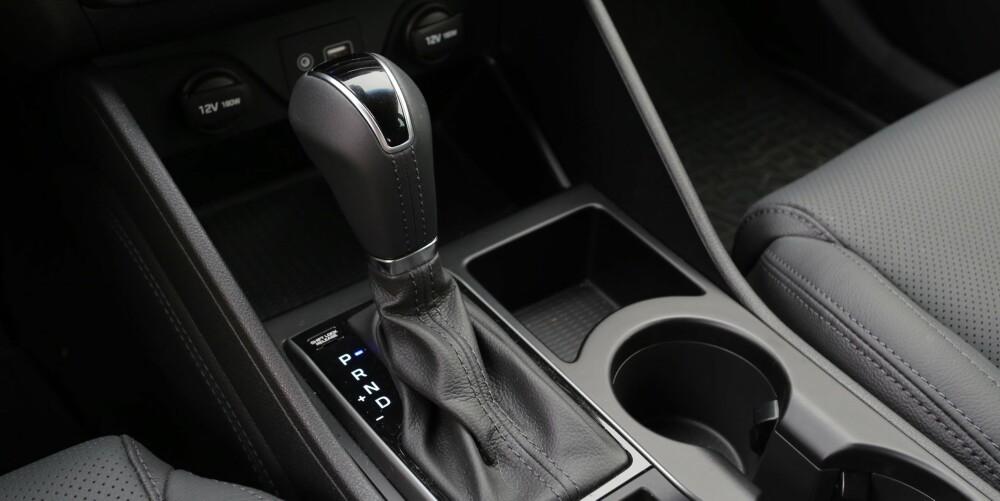 FIN AUTOMAT: Med den nye syvtrinns dobbelclutch girkassen og bensinturbo er Hyundai Tucson både lettkjørt og kvikk.
