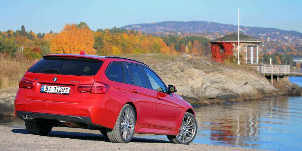 BRA PAKKE: BMW 320d xDrive Touring er en bil du neppe blir lei av med det første.
