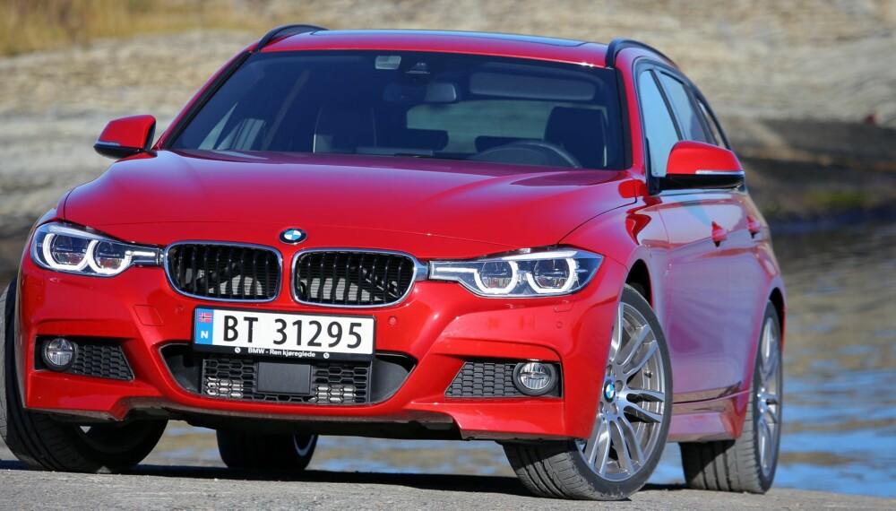 MINIMALT ANSIKTSLØFT: I følge BMW synes eierne at 3-serie ser så fin ut, at de knapt trengte å justere på utseendet i forbindelse med faceliften.