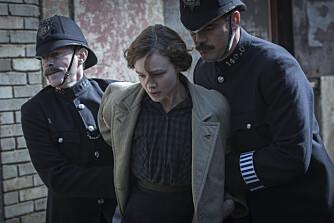 ALVOR: Suffragettene i Storbritannia kjempet en hard og til tider farlig kamp for kvinners rettigheter. Bildet er fra filmen Suffragette.