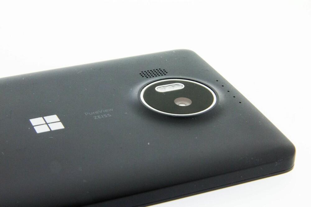 GODT KAMERA: Microsoft reklamerer med at kameraet på Lumia 950 XL og Lumia 950 har 20 megapiksels oppløsning. Vi finner bare at det har 19 megapiksels oppløsning. Det holder likevel til å ta gode mobilbilder.
