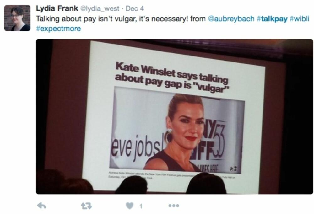 #TalkPay: Kampanjen ønsker å få slutt på lønnsforskjeller i arbeidslivet.