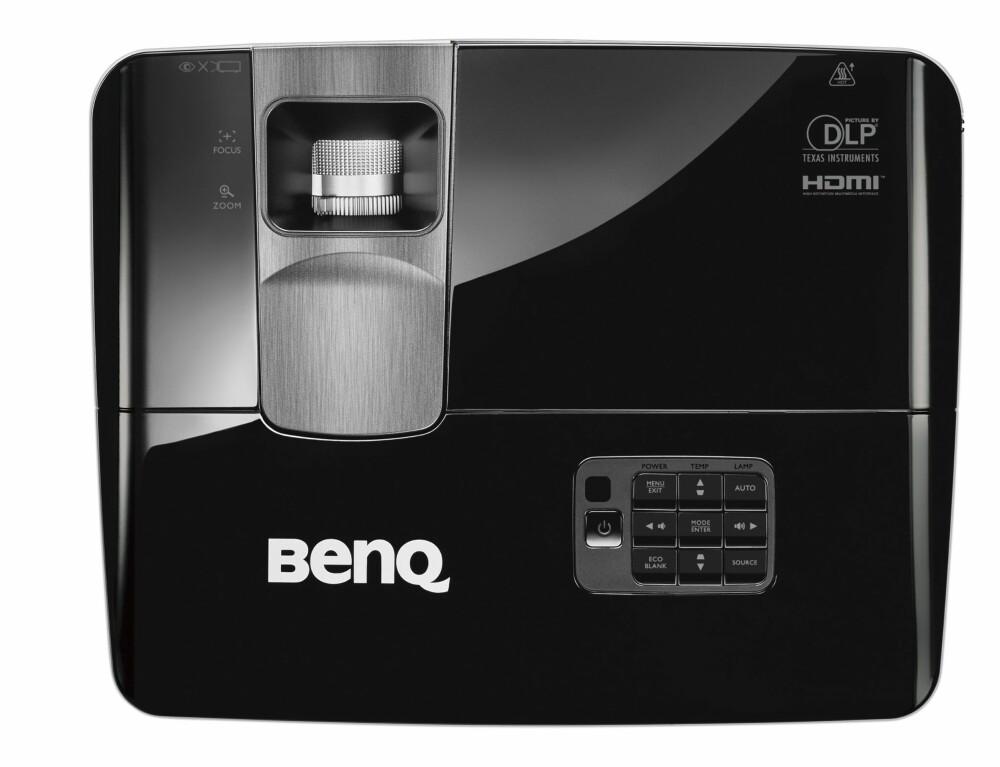 BESTE BILLIGE PROJEKTOR: BenQ TH681 kommer best i ut i vår test. Bra pris, godt sortnivå, godt bilde og høy lysstyrke gjør dette til en fleksibel hjemmekinoprojektor.